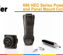 Franz Binder: 696 HEC Series Power Cable and Panel Mount Connectors