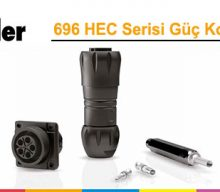 Franz Binder: 696 HEC Serisi Güç Konnektörleri