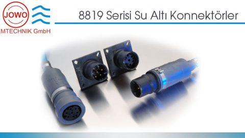 JOWO: 8819 Serisi Su Altı Konnektörler