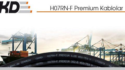 H07RN-F Premium Kablolar