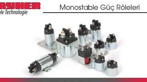 Monostable Power Relays