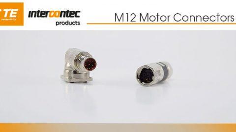 TE Connectivitiy: M12 Motor Connectors