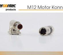 Te Connectivitiy: M12 Motor Konnektörleri