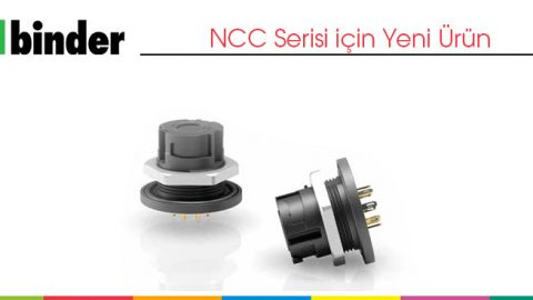 NCC Serisi Arkadan Montajlı Panel Tip Konnektörler