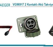 Erich Jaeger: VG96917 2 Kontaklı Akü Takviye Konnektörleri