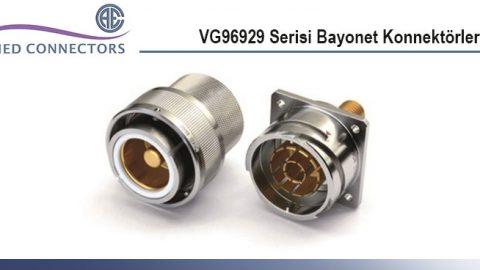 Allied Connectors: VG96929 Serisi Bayonet Konnektörler