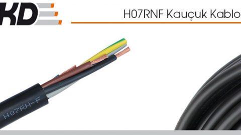 TKD: H07RNF Kauçuk Kablolar