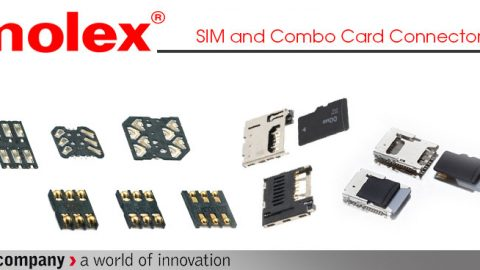 Molex: SIM and Combo Card Connectors