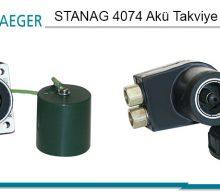 STANAG 4074 Akü Takviye Konnektörleri (MIL-PRF-62122)
