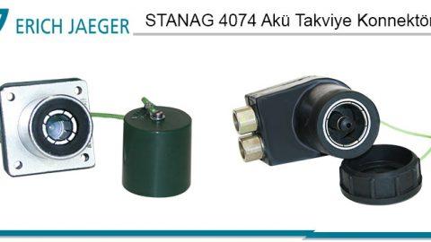 Erich Jaeger: STANAG 4074 Akü Takviye Konnektörleri (MIL-PRF-62122)