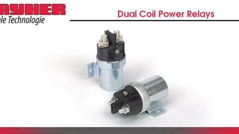 Dual-Coil Power Relays