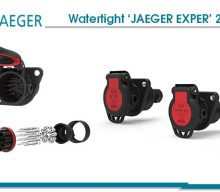 Watertight 'JAEGER EXPERT' 24V sockets