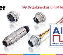 5G Uygulamaları için M16 Konnektörler