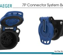 Erich Jaeger: 7P Connector System BASIC BLUE for The Transmission of Camera Signals