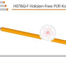 TKD: H07BQ-F Halojen-Free PUR Kontrol Kabloları