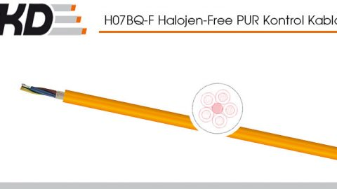 Tkd: H07BQ-F Flexible Control Cables