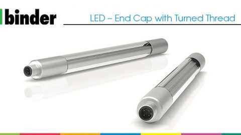 Binder: LED – End Cap with Turned Thread