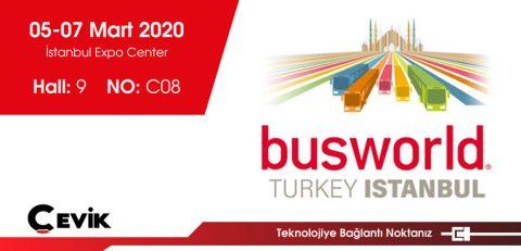 Busworld Türkiye Fuarı