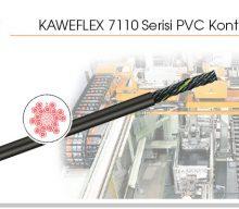 KAWEFLEX 7110 Serisi PVC Kontrol Kablosu