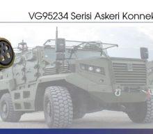VG95234 Serisi Askeri Konnektörler