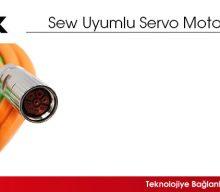 SewUyumlu Servo Motor Kabloları