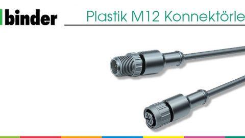 Plastik M12 Konnektörler