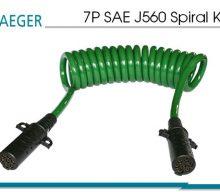 7P SAE J560 Spiral Kablolar