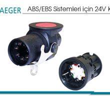 ABS/EBS Sistemleri için 24V Konnektör Seti