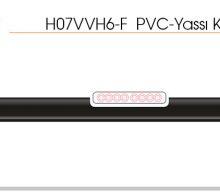 H07VVH6-F  PVC-Yassı Kablolar