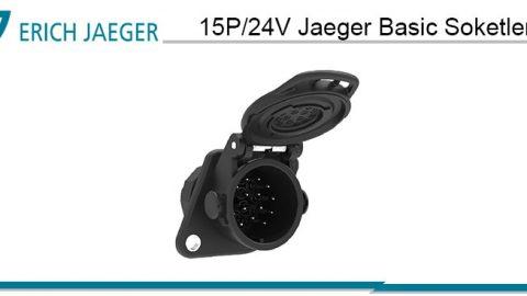 15P/24V Jaeger Basic Soketler
