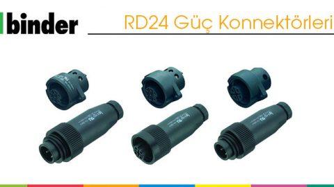 RD24 Güç Konnektörleri