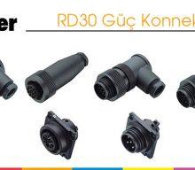 RD30 Güç Konnektörleri