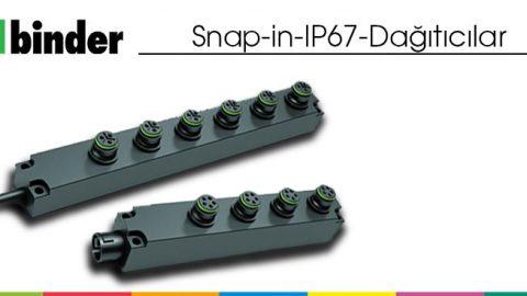 Snap-in IP67 Dağıtıcılar