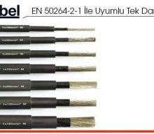 EN 50264-2-1 İle Uyumlu Tek Damarlı Kablolar