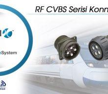 RF CVBS Serisi Konnektörler