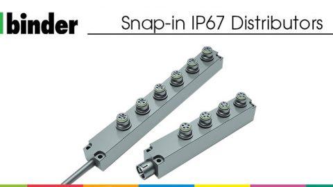 Snap-in IP67 Distributors