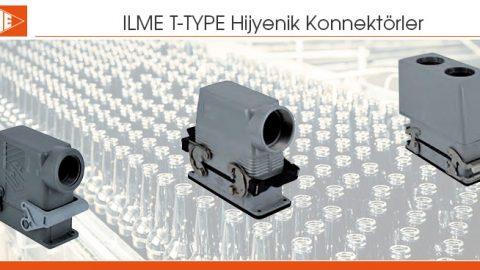 ILME T-TYPE Hijyenik Konnektörler