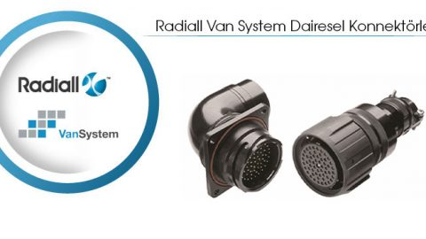 Radiall Van System Dairesel Konnektörler