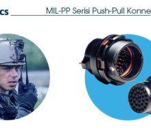 MIL-PP Serisi Push-Pull Konnektörler